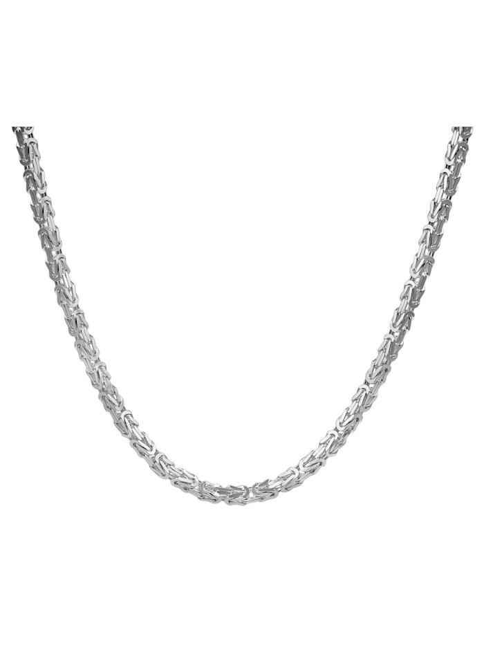 Halskette für Herren 925 Sterlingsilber Königskette 4,3 mm