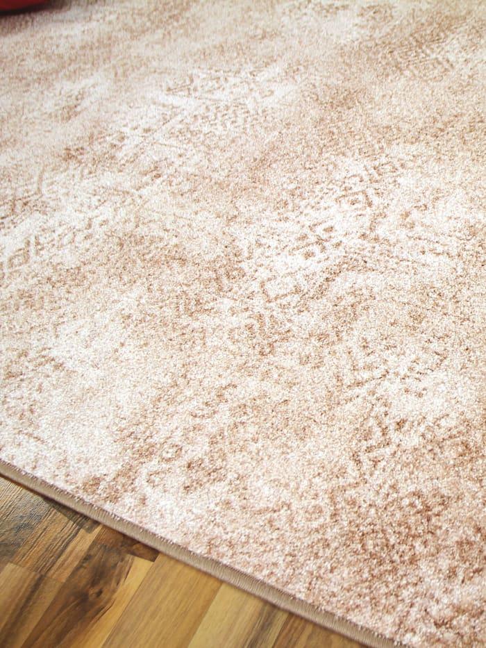 Designer Soft-Velours Teppich Vintage