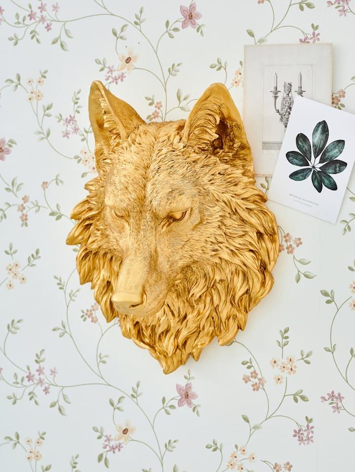 Wand-Deko, Wolfskopf