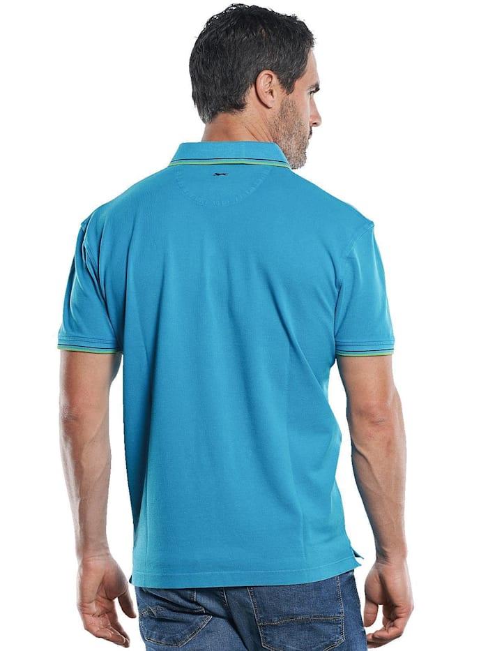 Poloshirt mit dezenten Farbkontrasten