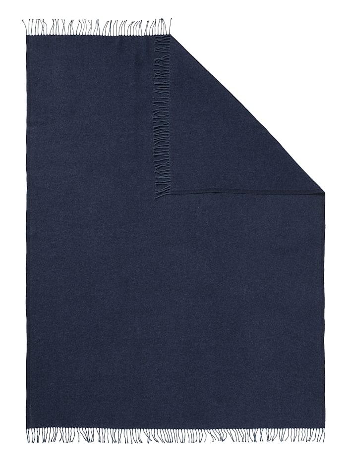 Sheego Sheego XL-Kuscheldecke, nachtblau