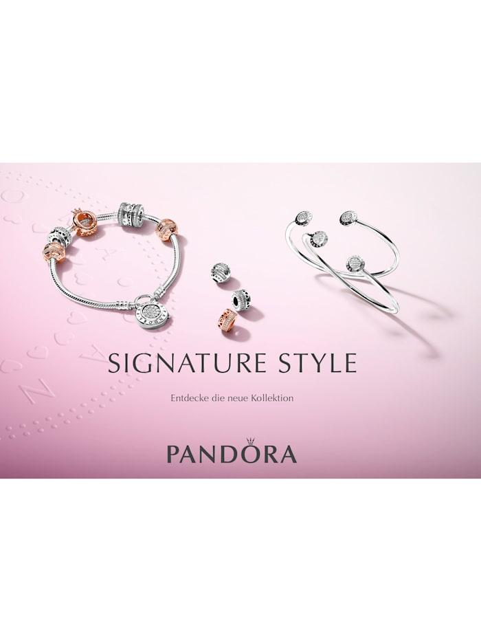 Pandora Armband mit Logo 590728-19, Silberfarben