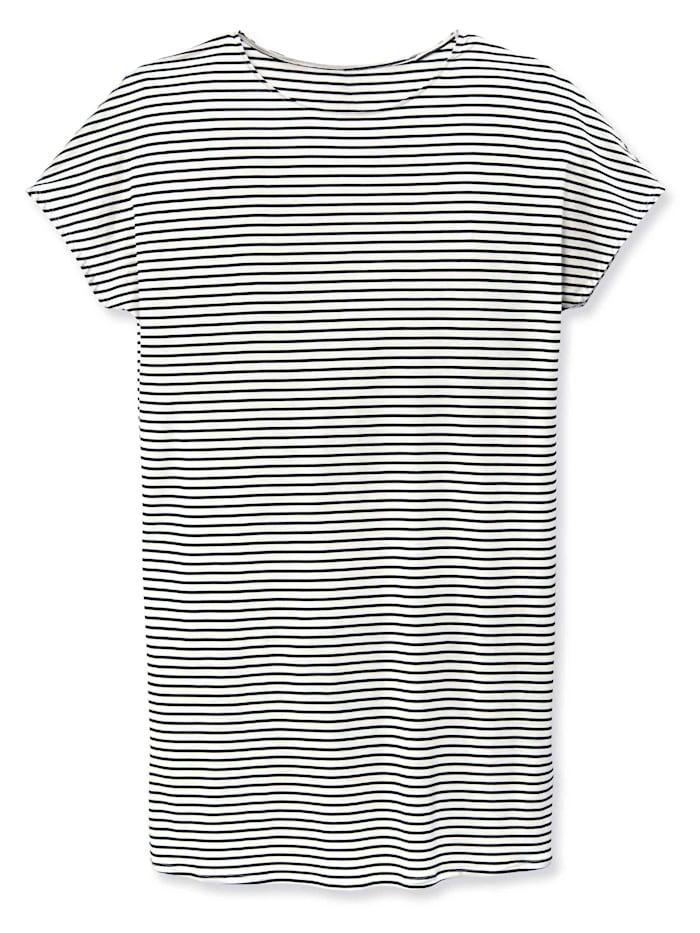 Calida Sleepshirt kurzarm, Länge 90cm STANDARD 100 by OEKO-TEX zertifiziert, Dark Lapis Blue