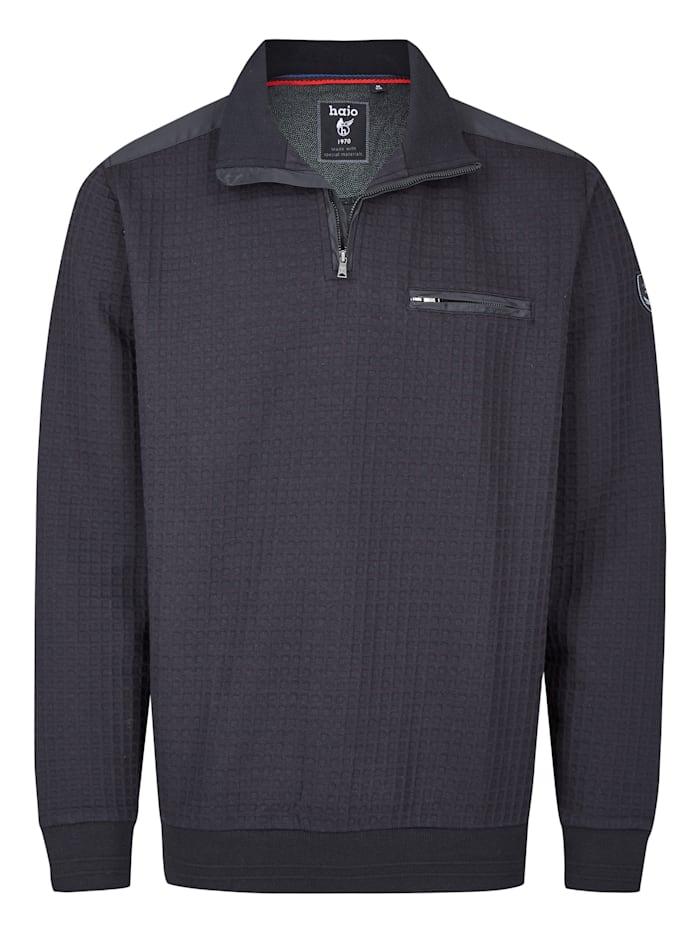 Hajo Sweatshirt, schwarz