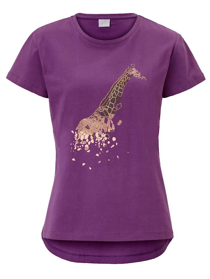 REKEN MAAR T-Shirt, Aubergine
