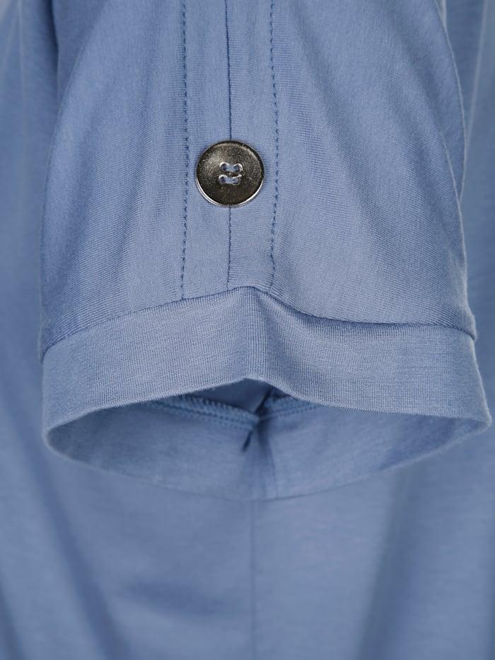 Shirt mit dekorativen Knöpfen am Ärmel