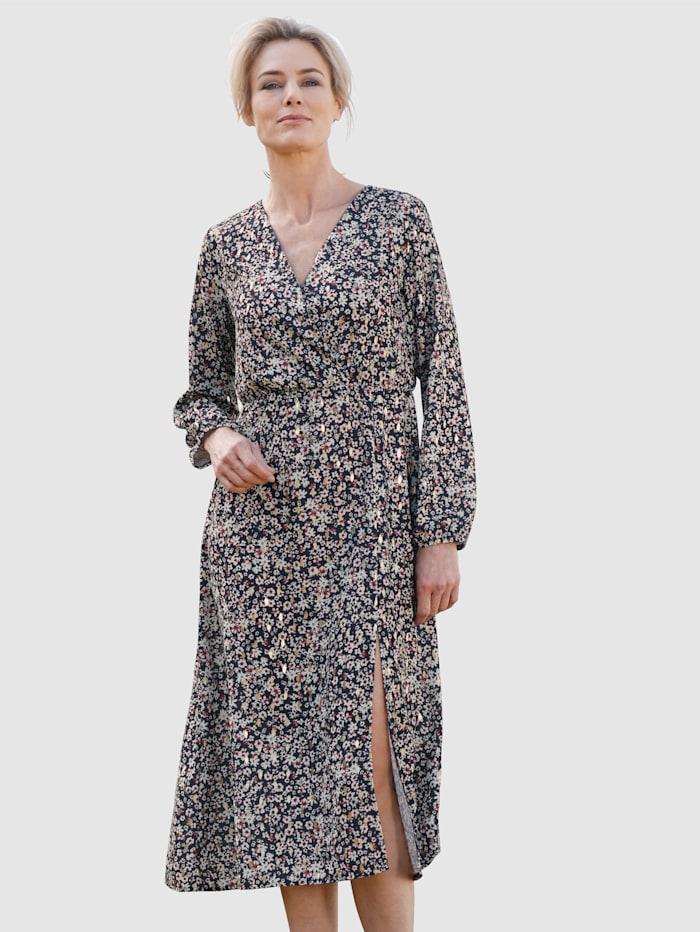 Dress In Robe de style cache-coeur, Bleu