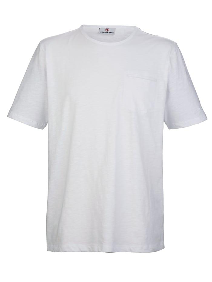 T-shirt met borstzakje