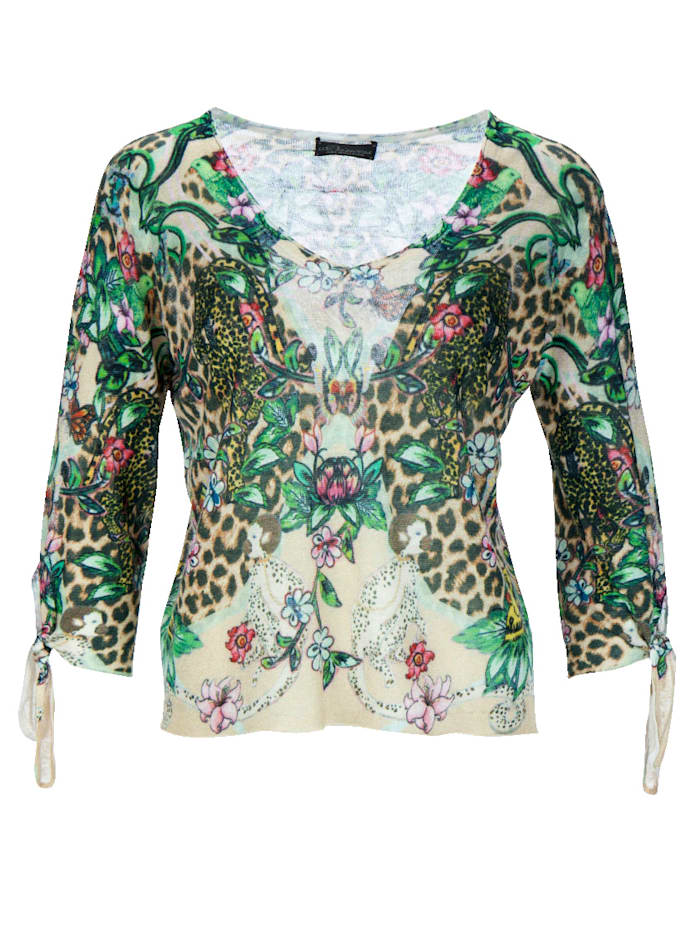 Pullover im farbenfrohen Muster