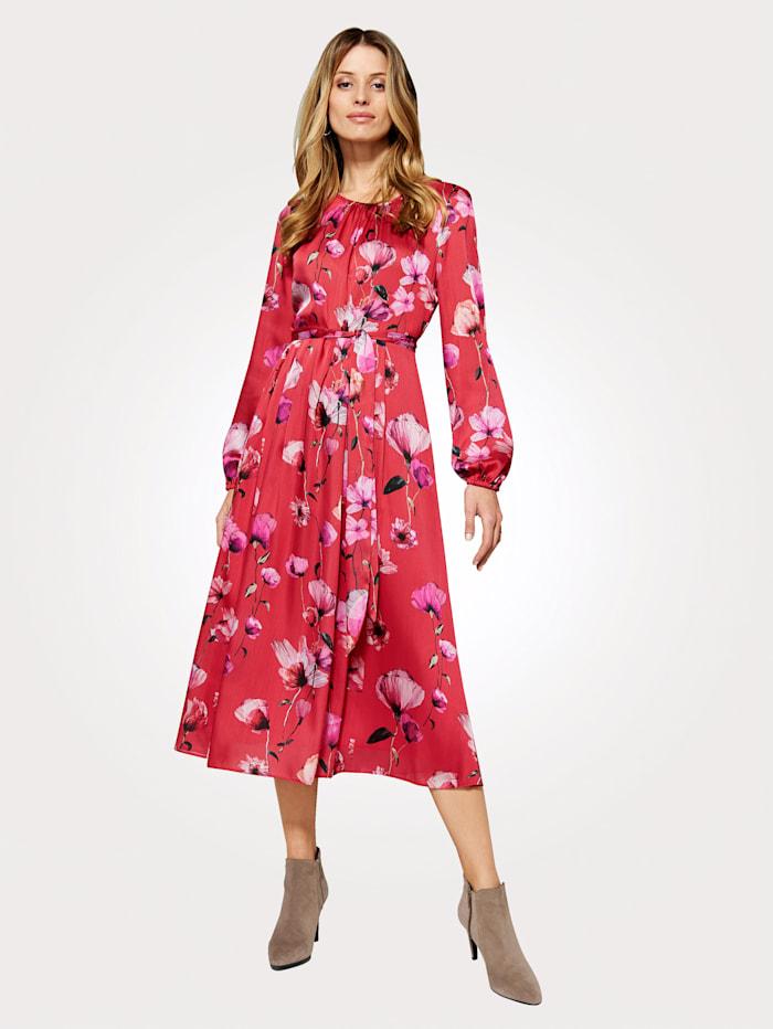 Artigiano Dress in an elegant floral print, Multi