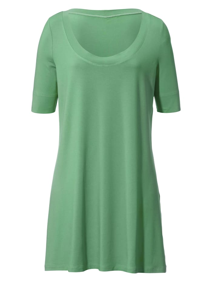Anna Aura Jersey-Shirt mit 1/2-Arm ., jadegrün