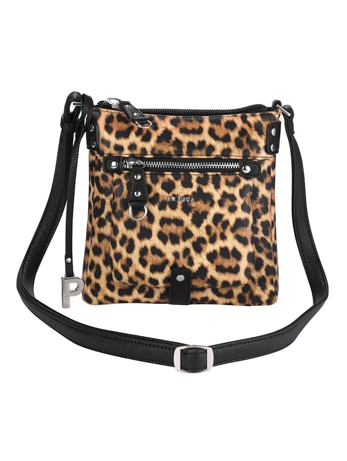 Picard Shoulder bag with a chic leopard print, Leopard