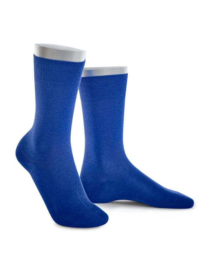 BABISTA Chaussettes tendance dans des coloris rafraîchissants, Bleu roi