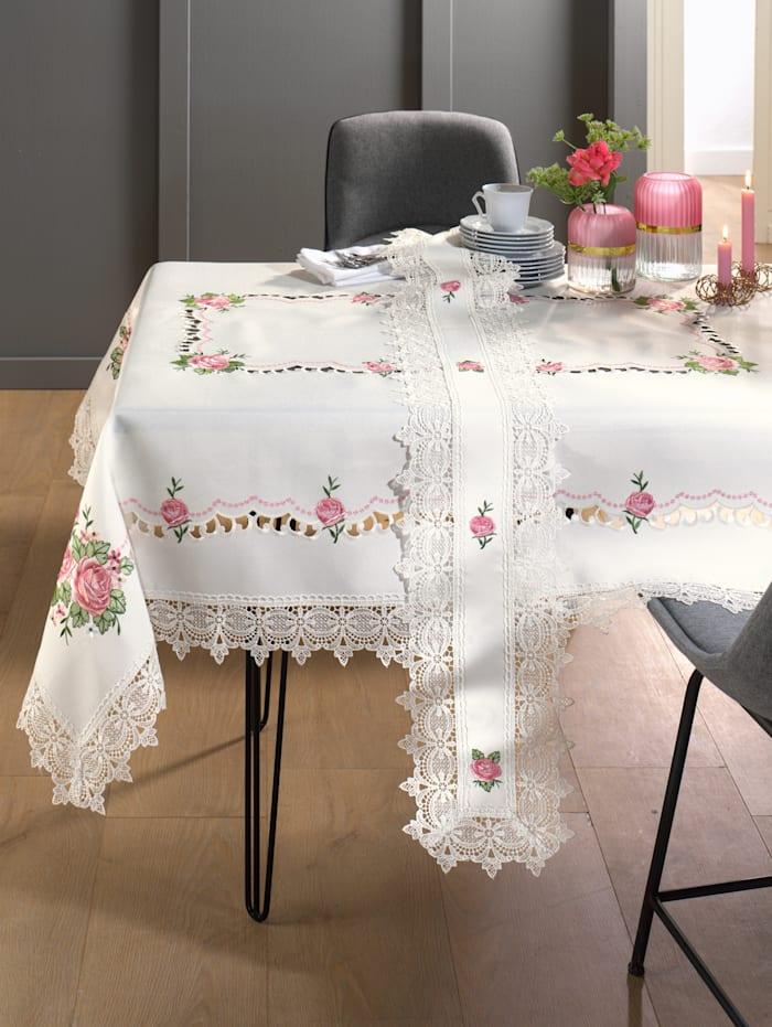 Webschatz Tischwäsche 'Romy', weiß