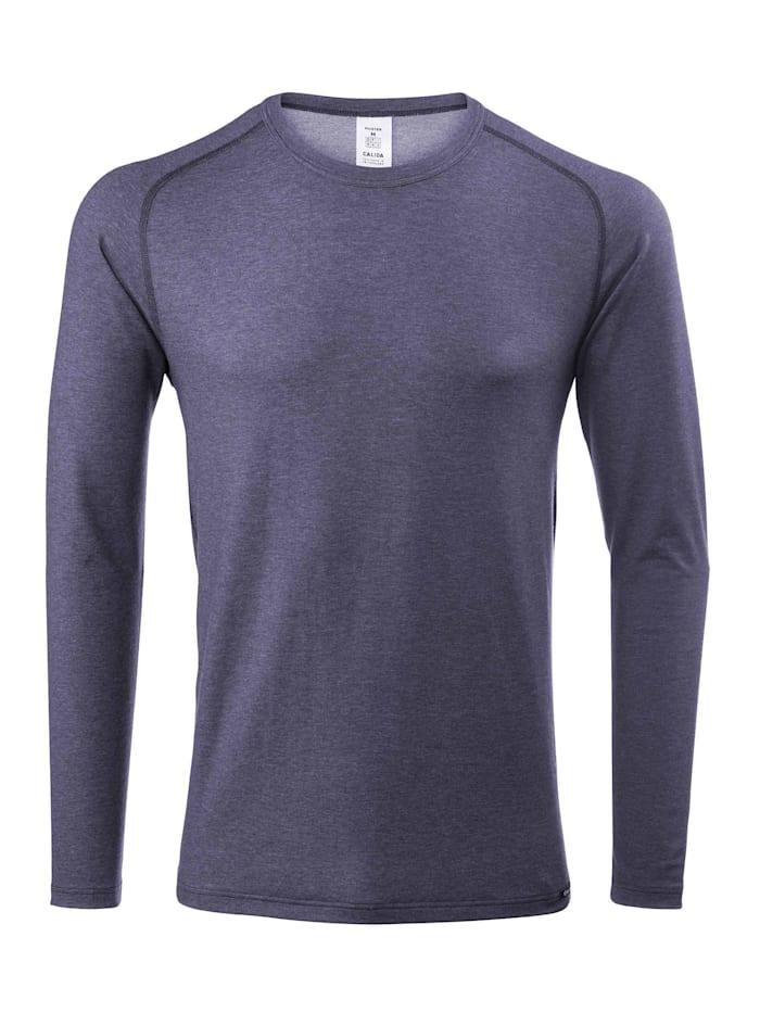 Calida Funktions-Langarm-Shirt Ökotex zertifiziert, jeans mele