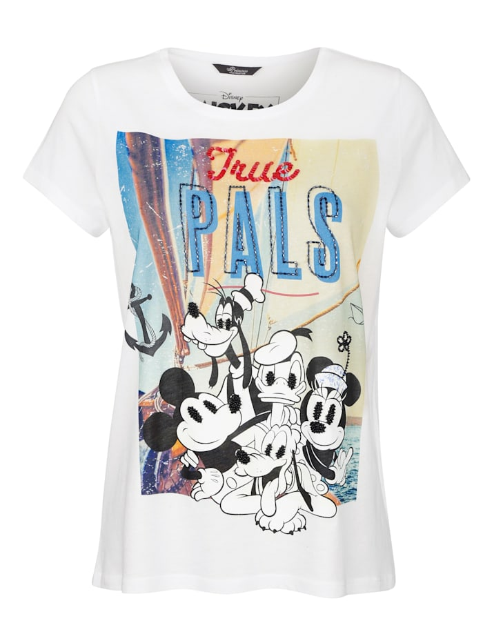 T-Shirt mit Disneymotiv