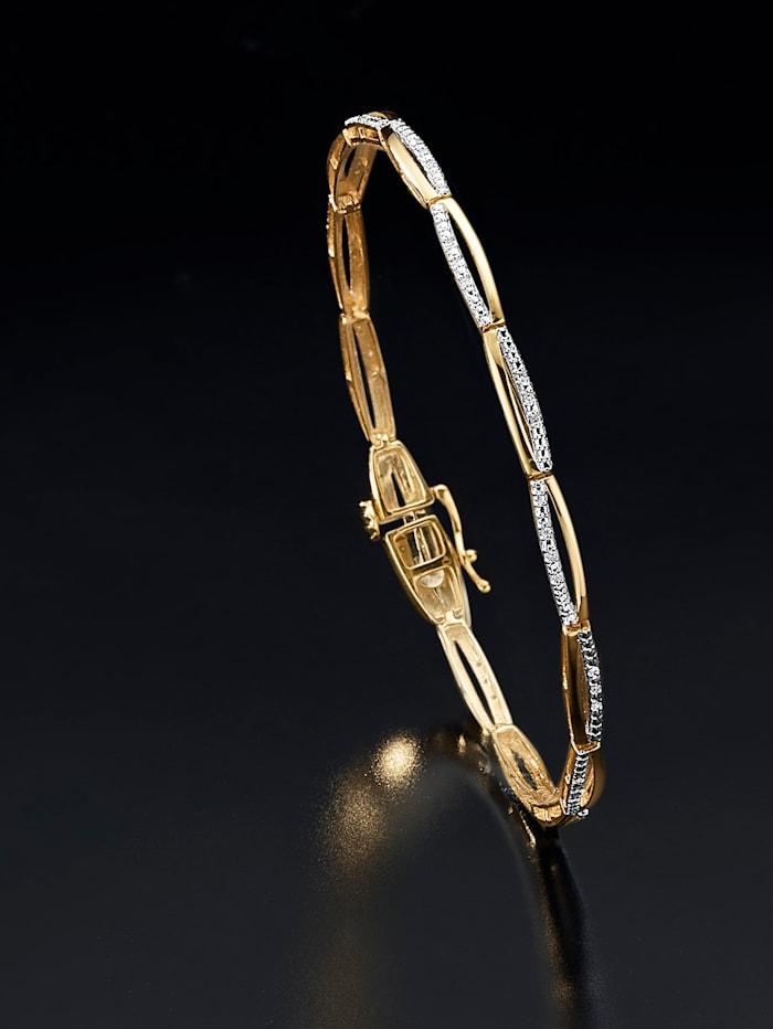 Bracelet avec diamants