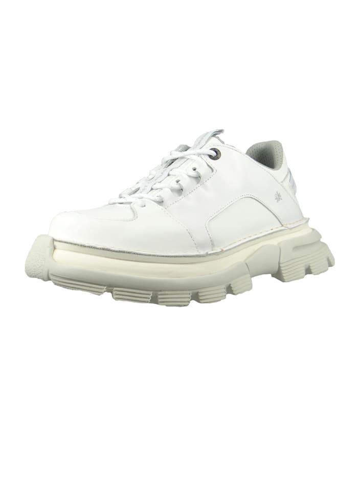 *art Damen Leder Sneaker CORE1 White Weiß 1651, White