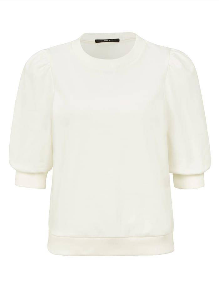 SET Sweatshirt, Weiß