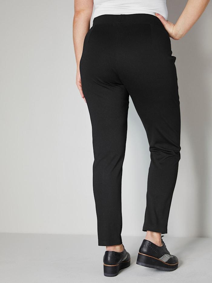 Jerseyhose mit elastischem Bund