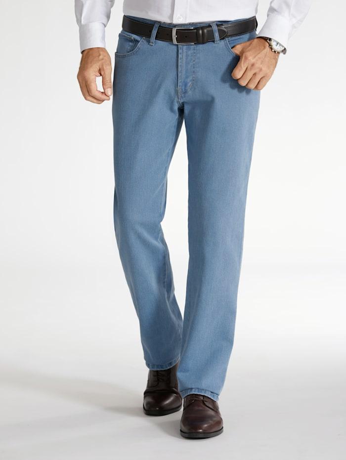 BABISTA Unterbauch-Jeans mit verkürzter Leibhöhe, Hellblau