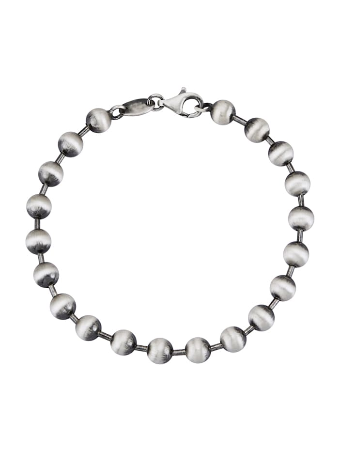 Armband van echt zilver, Zilverkleur