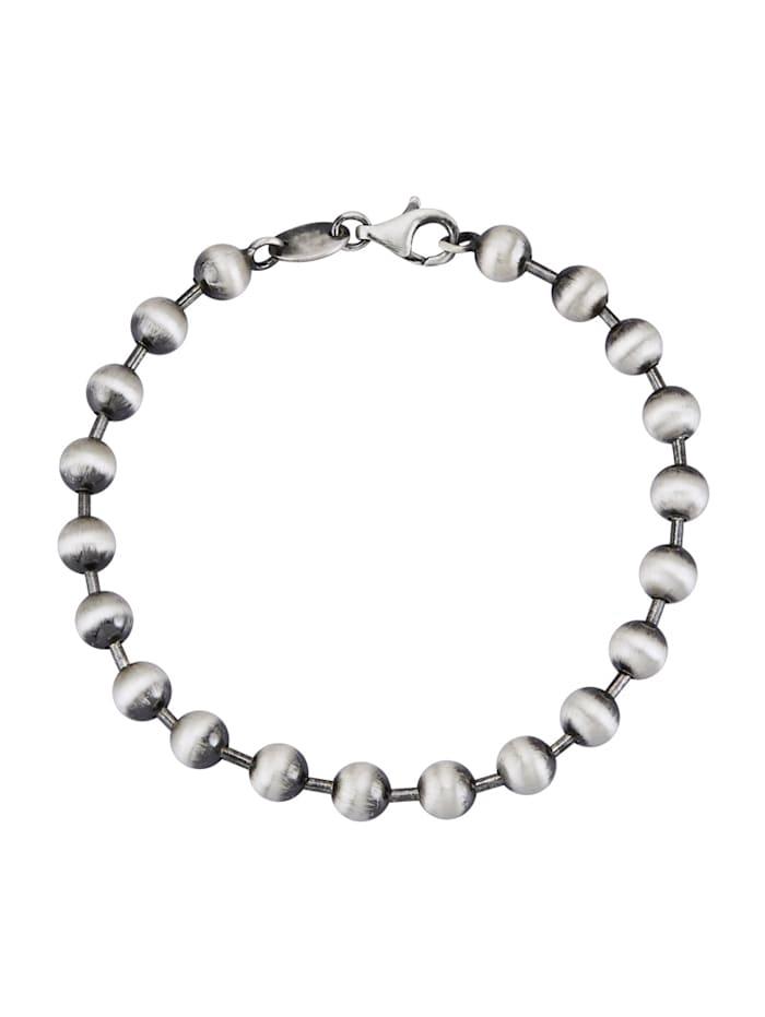 Kugelarmband in Silber 925, Silberfarben