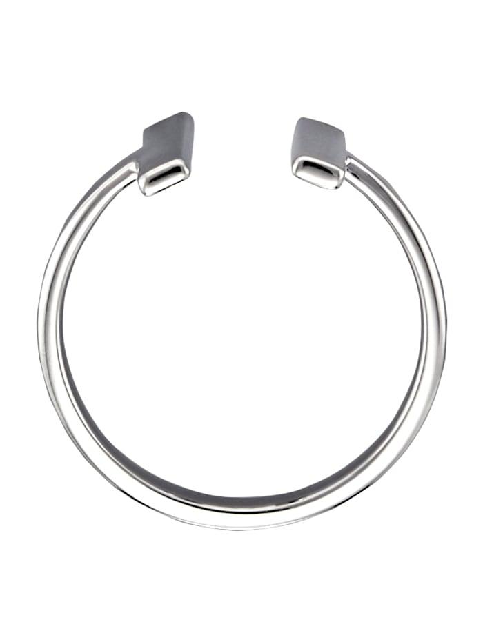 Ring i fräck design med rena linjer