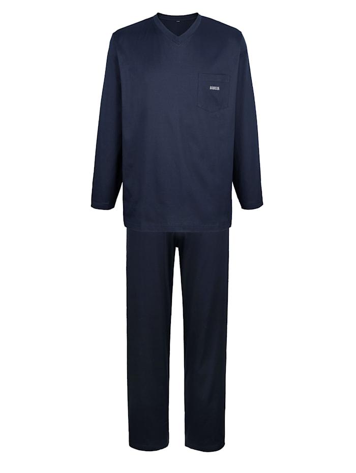 BABISTA Pyjama Van gemerceriseerd katoen, marine