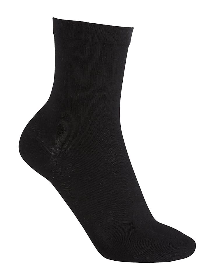 RS Harmony Softrand sokken 2 paar, Zwart