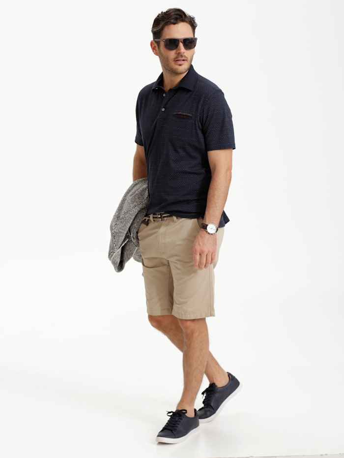 Poloshirt mit optimalen Materialeigenschaften