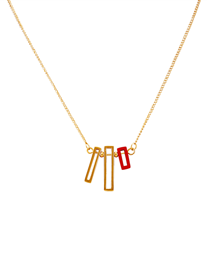 Love Inspiration Collier mit rotem Element, Rot