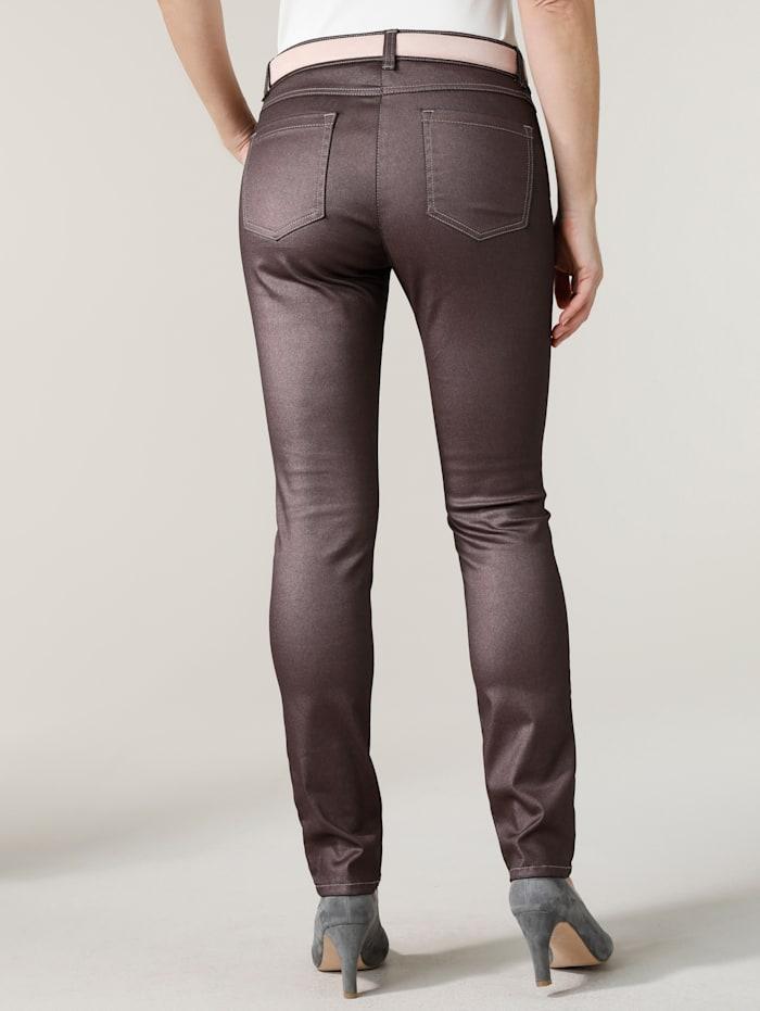 Pantalon en fil brillant