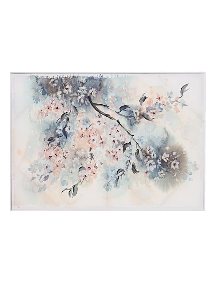 IMPRESSIONEN living Bild, Kirschblüten, multicolor