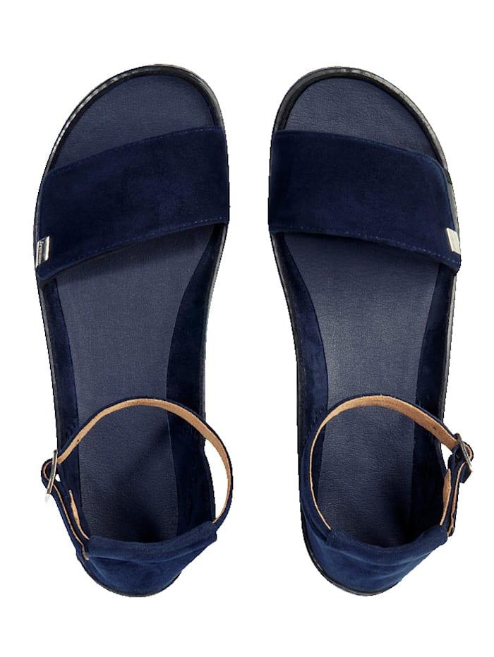 Leguano Leguano®  Jara Barfuß-Sandale - in einem frischen dunkelblau, Blau