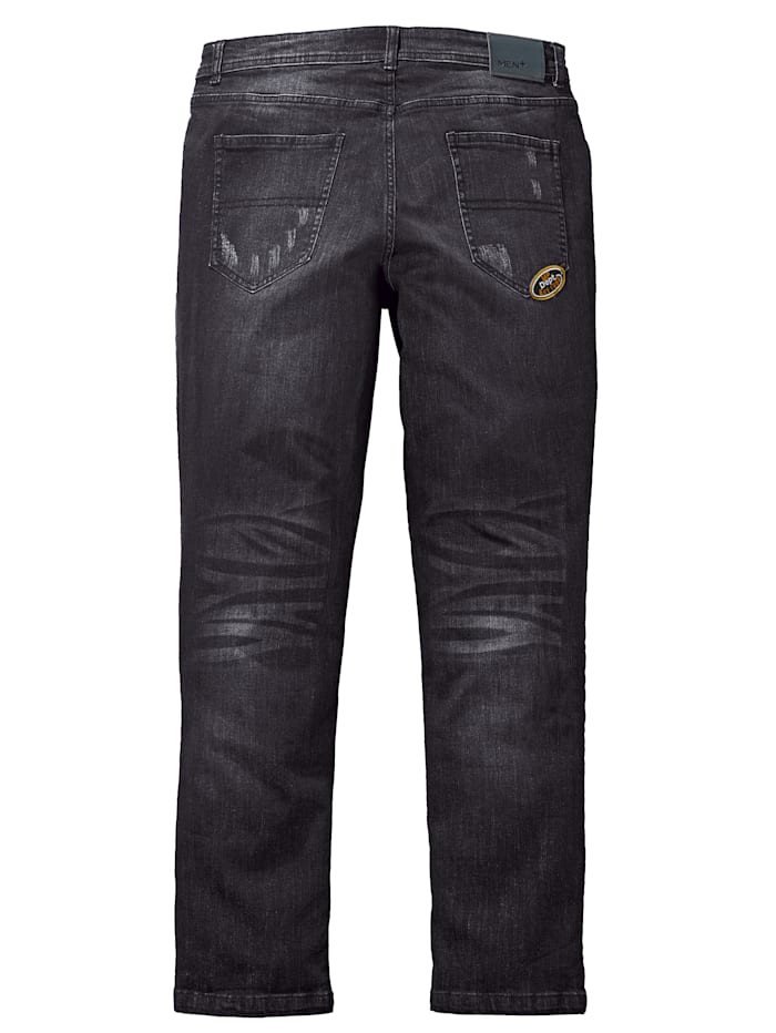 Jeans i tapered fit