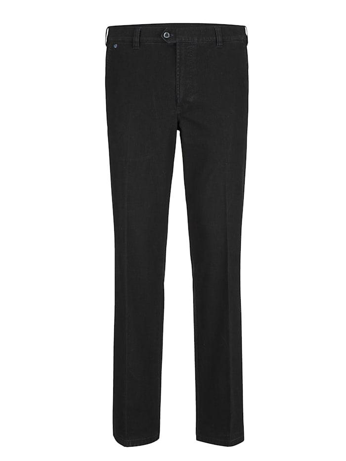 BABISTA Pantalon en matière finement structurée, Anthracite