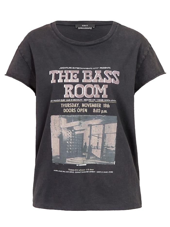SET T-Shirt, Schwarz