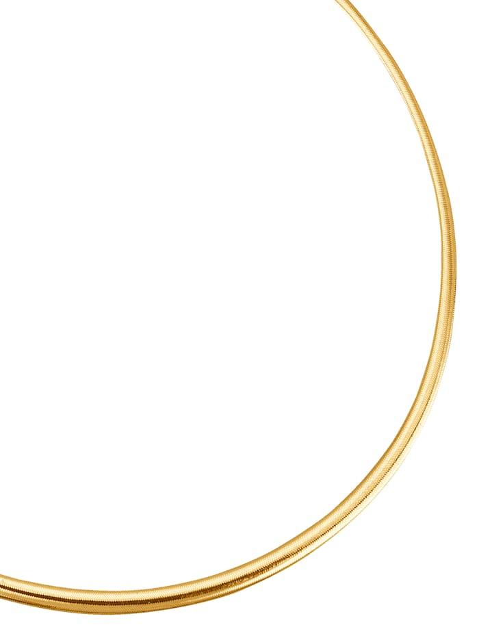 Omega collier 14 kt., Geel