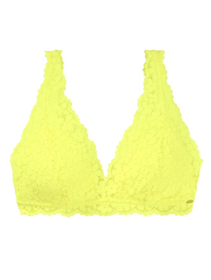 Skiny Soft-Cup-BH, Zitronengelb
