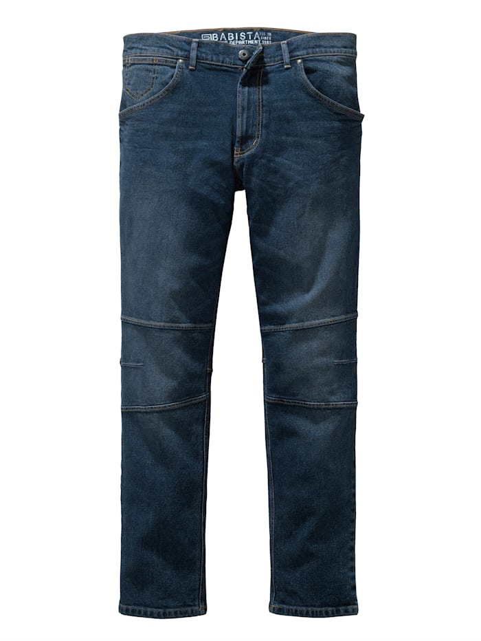 Jeans in kernig-schwerer Qualität