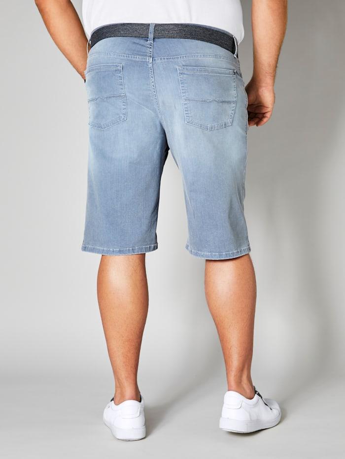 Jeansbermuda in 5-Pocket-Form