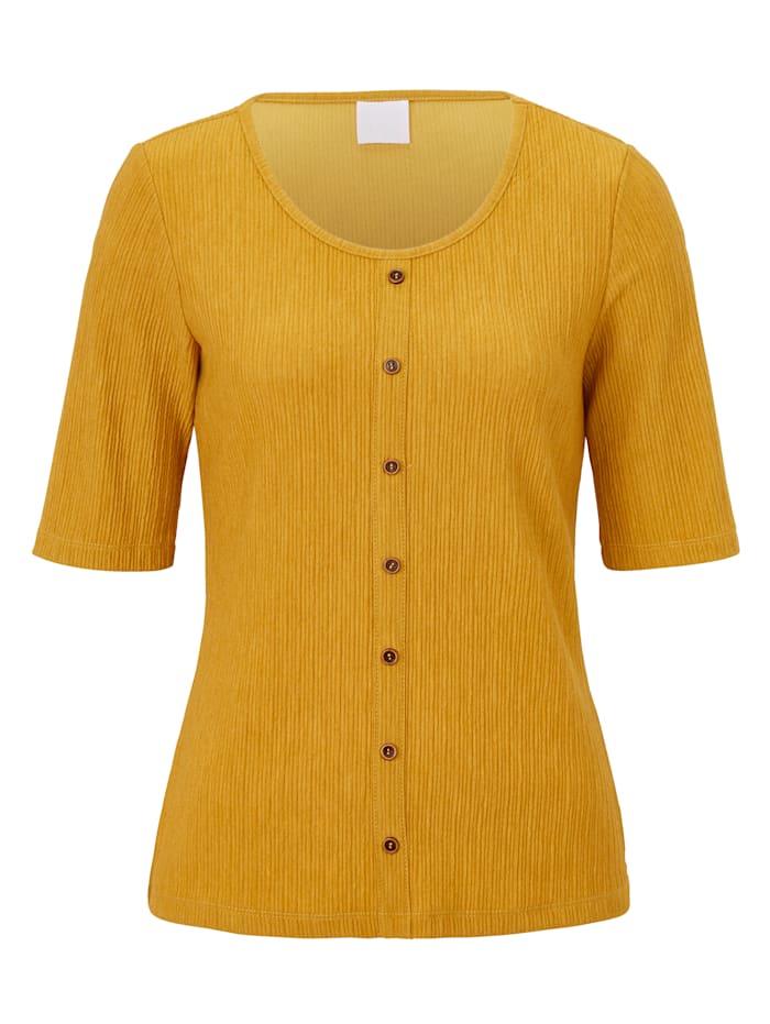 REKEN MAAR T-Shirt, Gelb