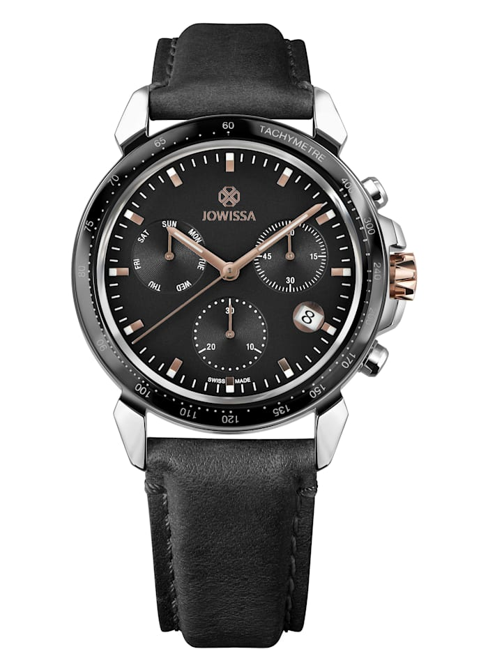 Jowissa Quarzuhr LeWy 9 Swiss Men's Watch, rosa