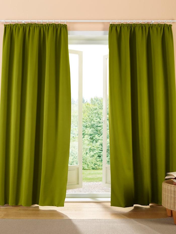 Webschatz Mörkläggningsgardin, grön