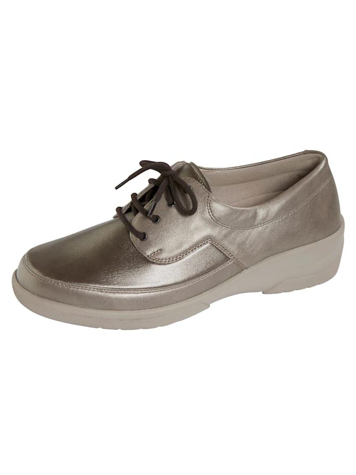 Solidus Sneakers à soutien voûte plantaire, Coloris or