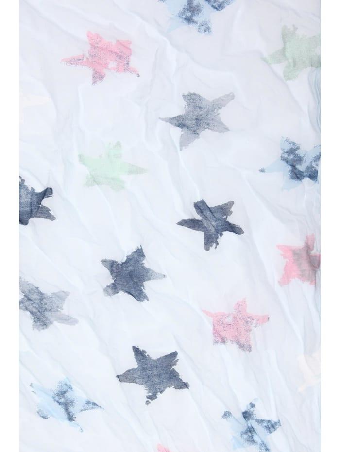 Öko Schal Sterne mit plastikfreiem Versand