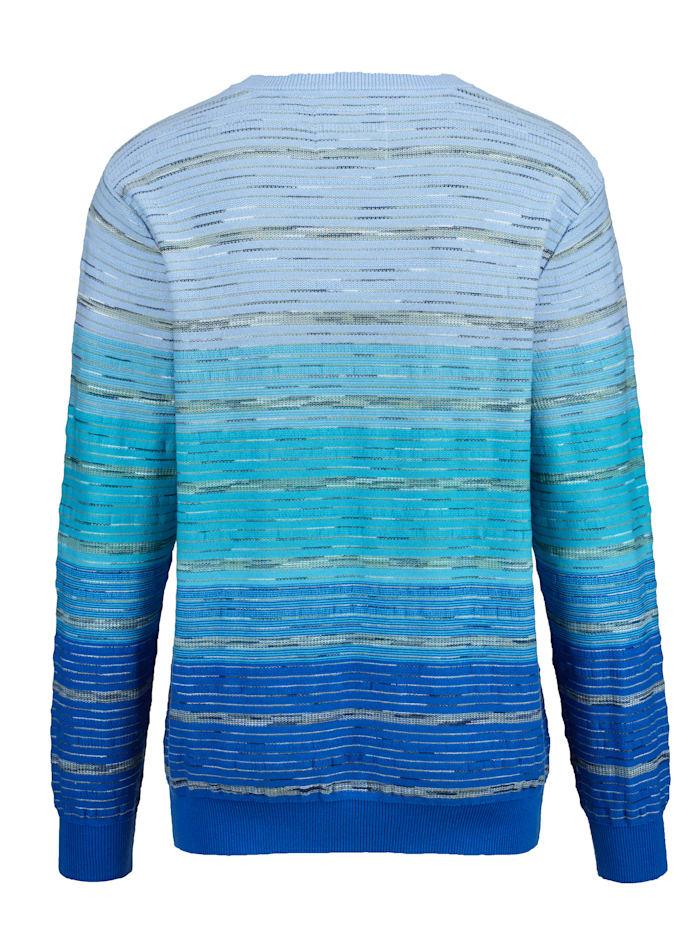 Pullover mit effektvollem Farbverlauf