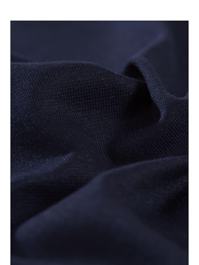 Damen V-Shirt aus Baumwolle/Elastan