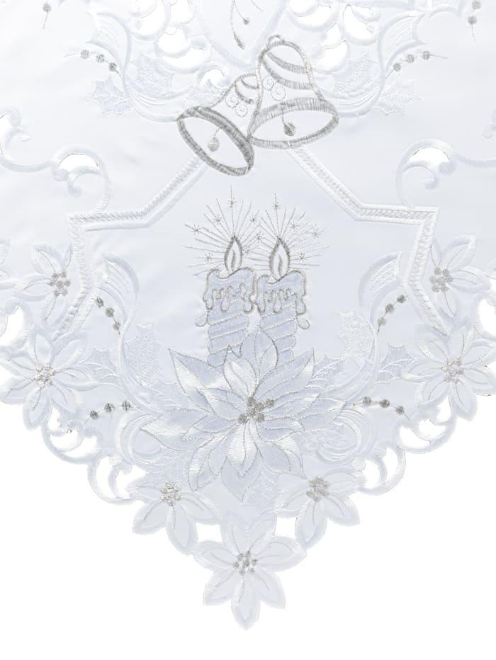 """Linge de table """"Fleur argentée"""""""